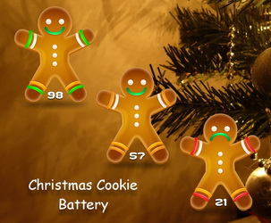 Christmas Cookie Battery
