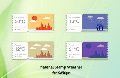 Material Stamp Weather